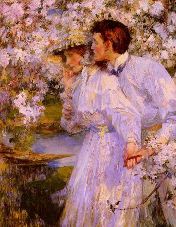 James Jebusa Shannon, in The Springtime