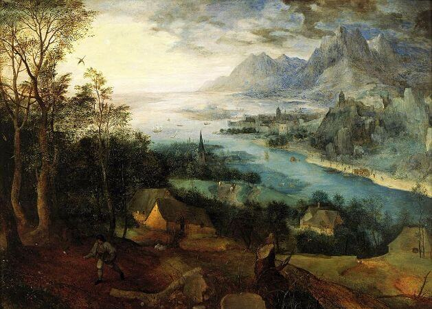 Landscape With The Parable Of The Sower, 1557