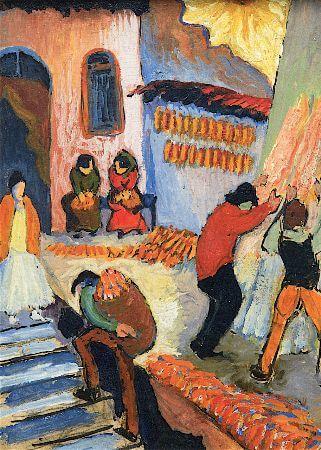 Marianne von Werefkin, Corn Harvest, 1920