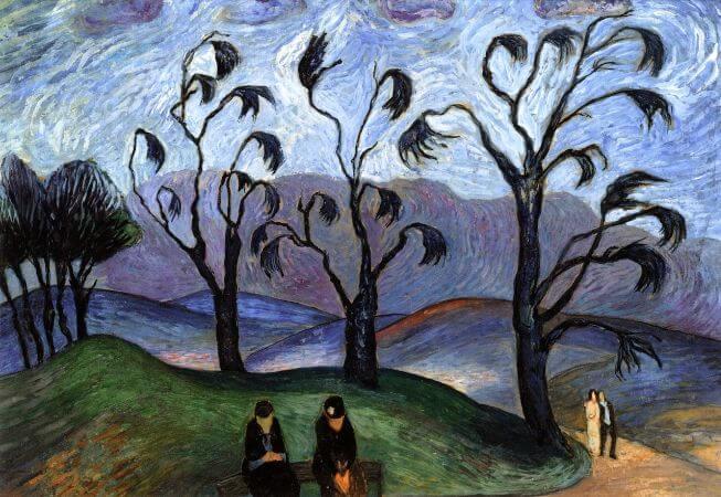Marianne von Werefkin, Fantastic Landscape, 1923