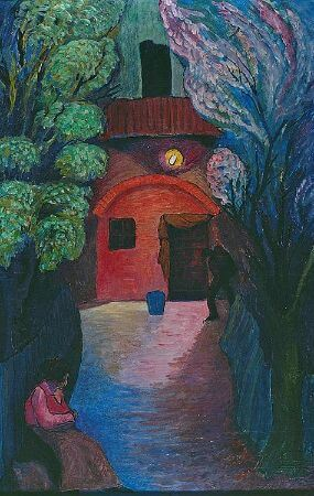 Marianne von Werefkin, Nightly illuminated Entrance