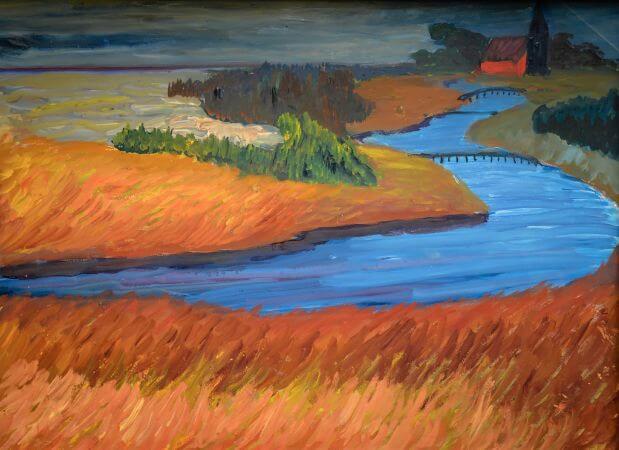 Marianne von Werefkin, River Prerow, 1911