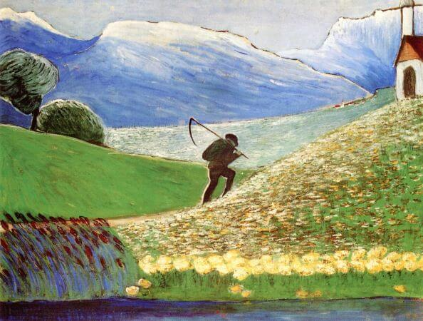 Marianne von Werefkin, The Reaper, 1910