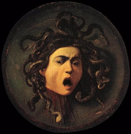 Michelangelo Merisi da Caravaggio, The Head Of Medusa, 1598