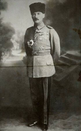 Mirliva Mustafa Kemal, 1918