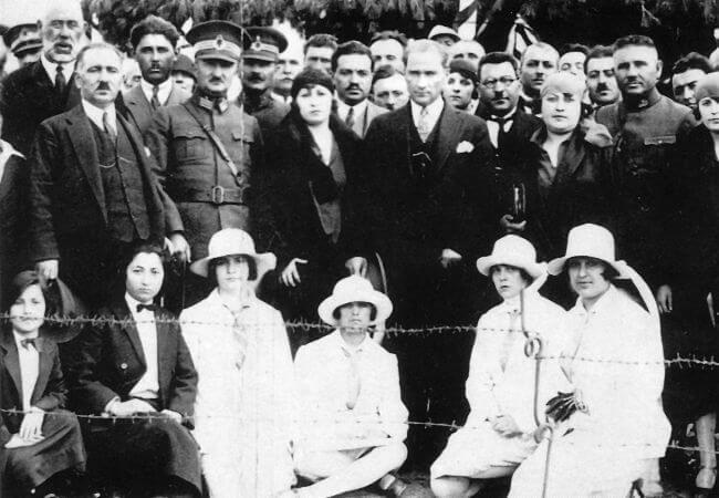 Mustafa Kemal Ataturk, Bozuyuk, Bilecik, 1926