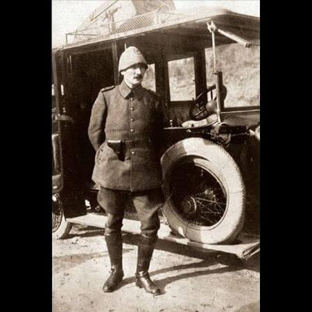 Mustafa Kemal Ataturk, Gelibolu, Canakkale, 1915