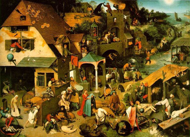 Netherlandish Proverbs, 1559