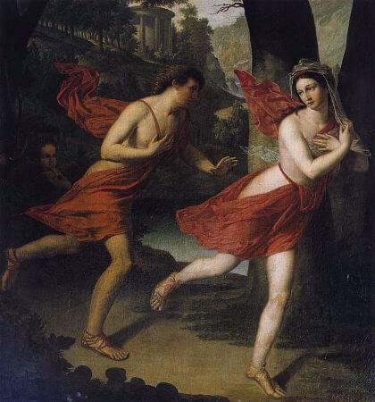 Pauline As Daphne Fleeing From Apollo, 1810