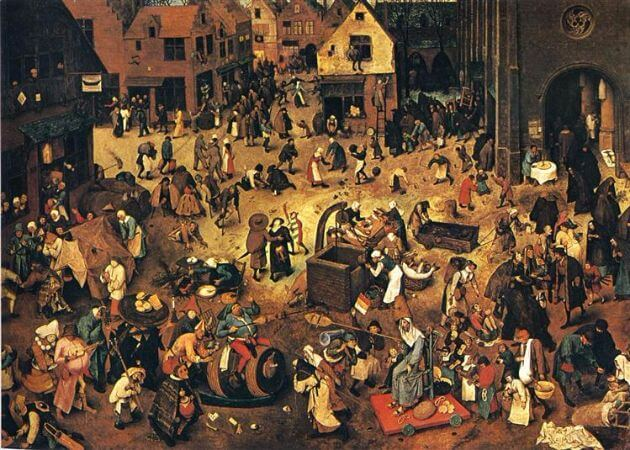 The Fight Between Carnival And Lent, 1559