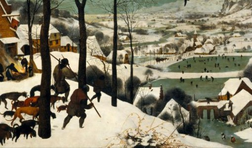 The Hunters In The Snow, 1565
