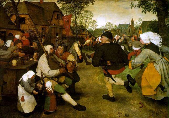 The Peasant Dance, 1568
