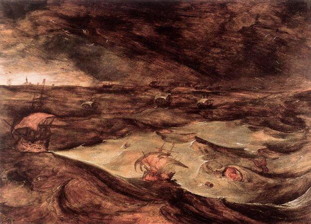 The Storm At Sea, 1569