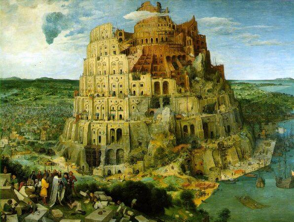 The Tower Of Babel, 1563