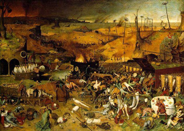 The Triumph Of Death, 1562