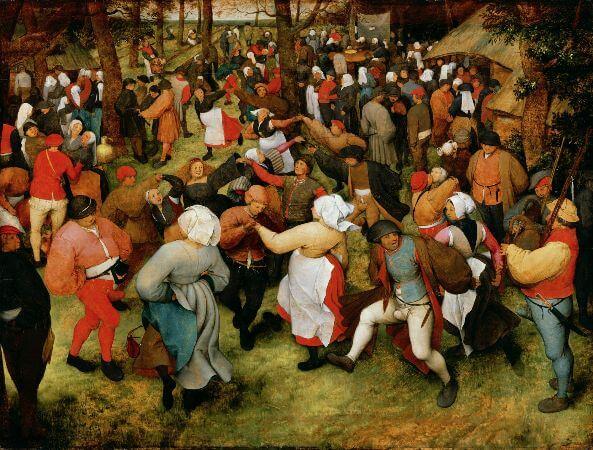 The Wedding Dance, 1566