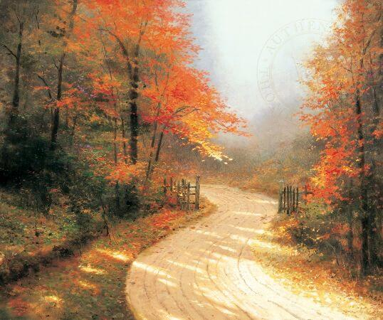 Thomas Kinkade, Autumn Lane