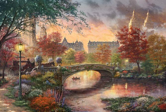 Thomas Kinkade, Autumn in New York