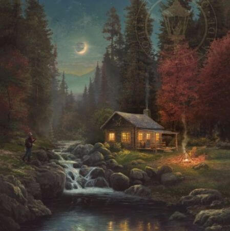 Thomas Kinkade, Away From it All