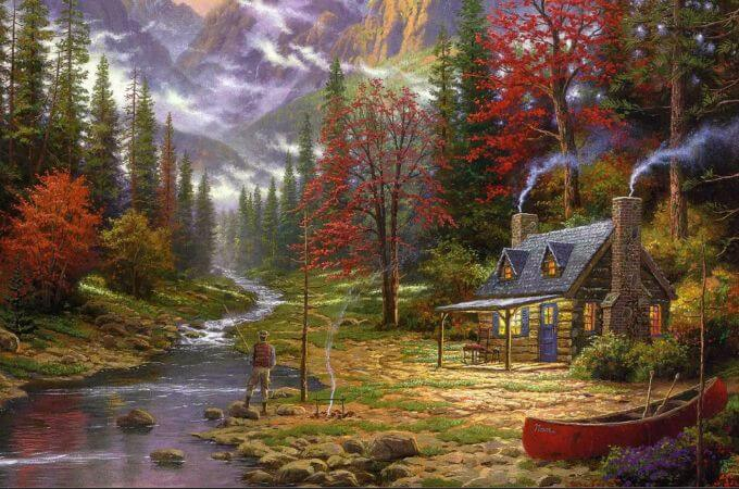 Thomas Kinkade, The Good Life