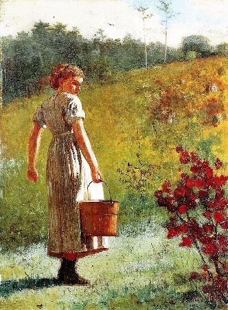 Winslow Homer, Returning From The Spring