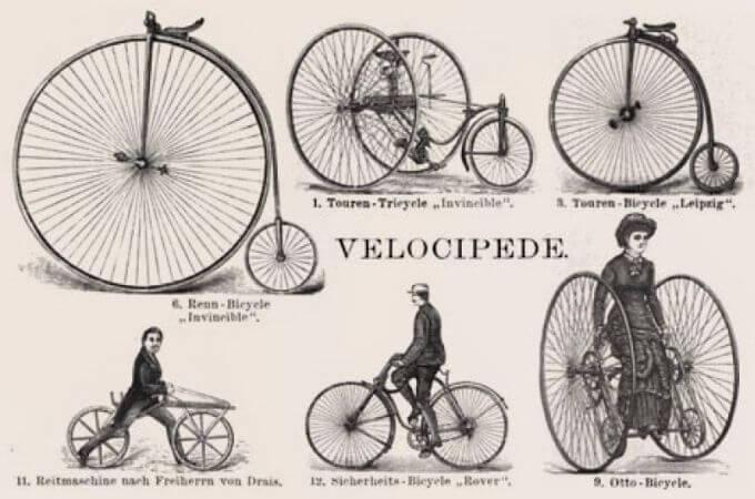 eskiden bisiklet