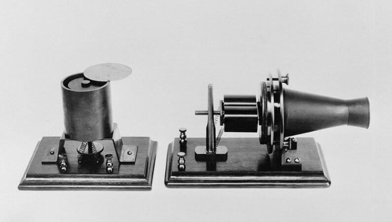 ilk telefon, 1876