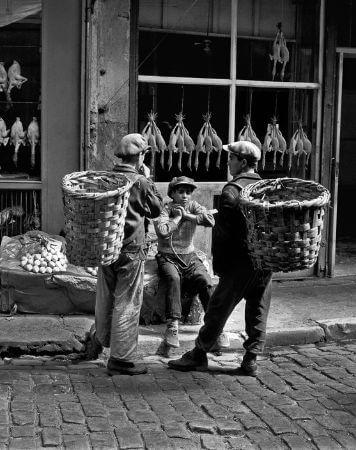 Ara Guler, Balikpazari, 1954