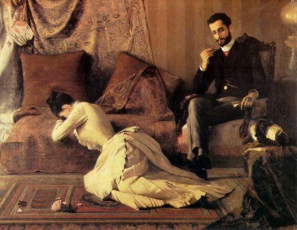 Belmiro de Almeida, Arrufos, 1887