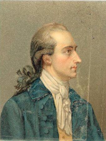 Georg Oswald May, Portrait of Johann Wolfgang von Goethe, 1779