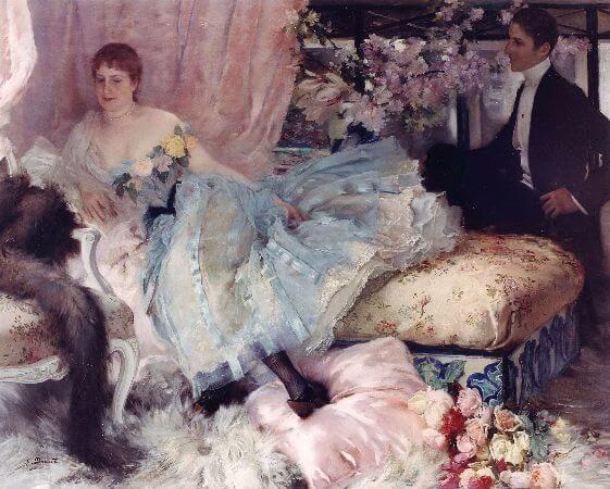 Henri-Lucien Doucet, Après le Bal, 1889