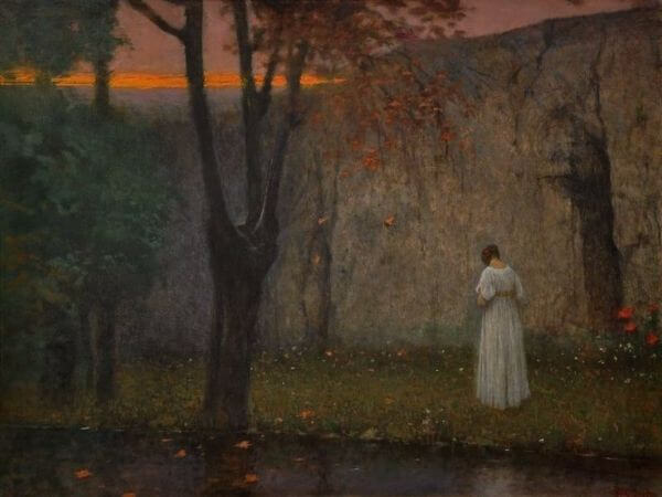 Jakub Schikaneder, Autumn Sunset, 1910