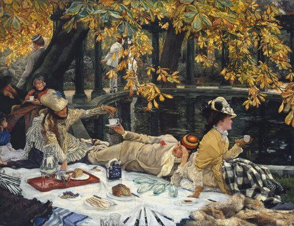 James Tissot, Holyday, 1876