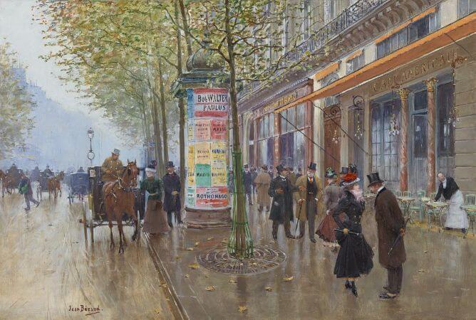Jean Beraud - Les Grands Boulevards