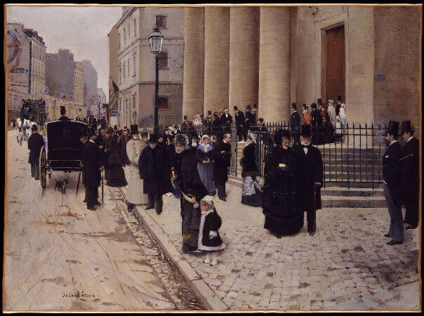 Jean Beraud - The Church of Saint Philippe du Roule, 1877