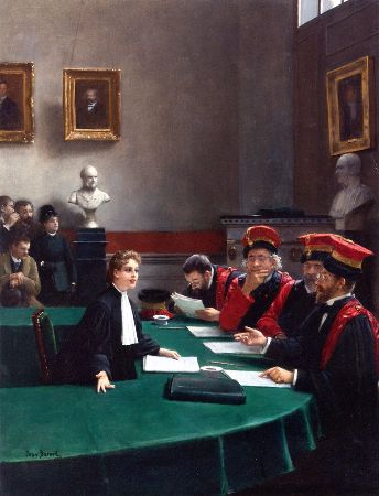 Jean Beraud - The Thesis of Madeleine Bres