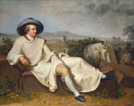 Johann Heinrich Wilhelm Tischbein, Goethe in The Roman Campagna, 1786