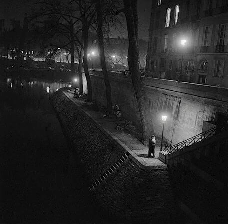 Kees Scherer, Paris, 1955