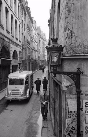 Mark Kauffman, Paris, 1950