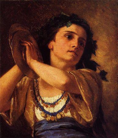 Mary Cassatt, Bacchante, 1872