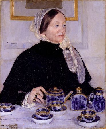Mary Cassatt, Lady At The Tea Table, 1885