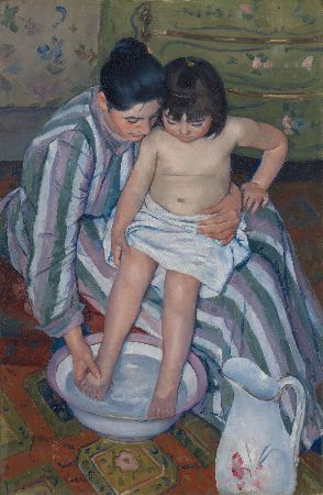 Mary Cassatt, The Child's Bath, 1893