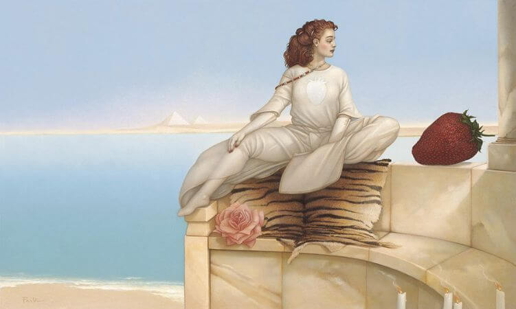 Michael Parkes, Strawberry Season Revisited