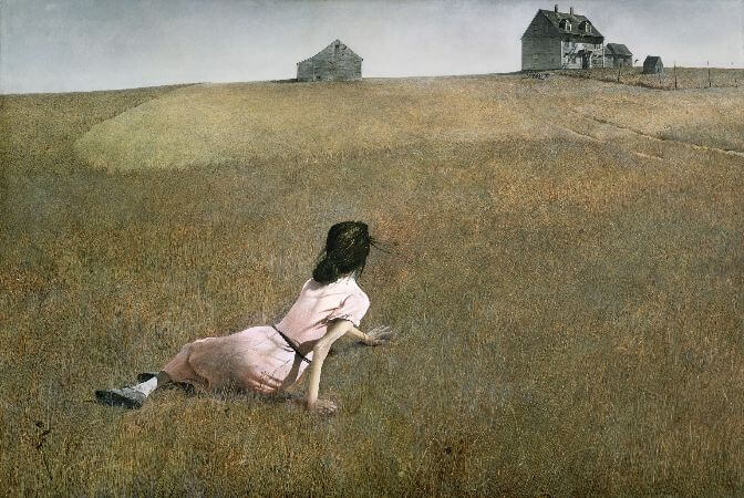 Andrew Wyeth, Christinas World, 1948