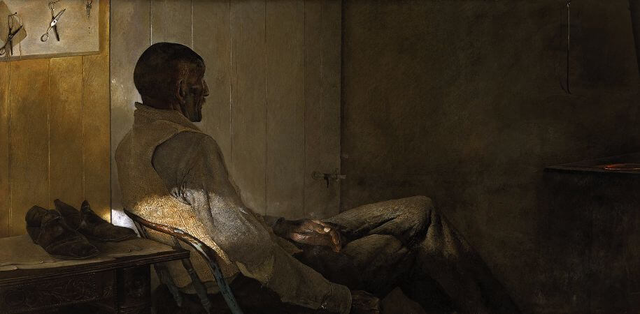Andrew Wyeth, That Gentleman, 1960