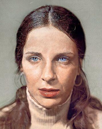 Chuck Close, Leslie, 1973