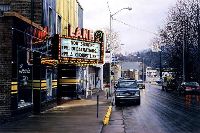 Davis Cone, Lane:Rainy Wintry Morning, 2000