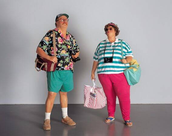Duane Hanson, Tourists II, 1988