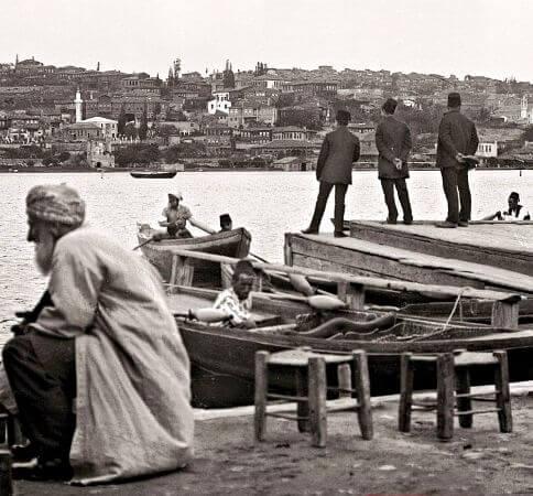 Eyupten Sutluceye bakis, 1900ler