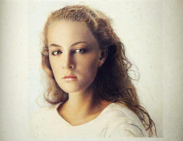 Franz Gertsch, Johanna I, 1984